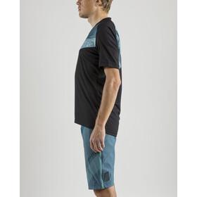 Craft Verve XT Koszulka kolarska, krótki rękaw Mężczyźni, black/heal